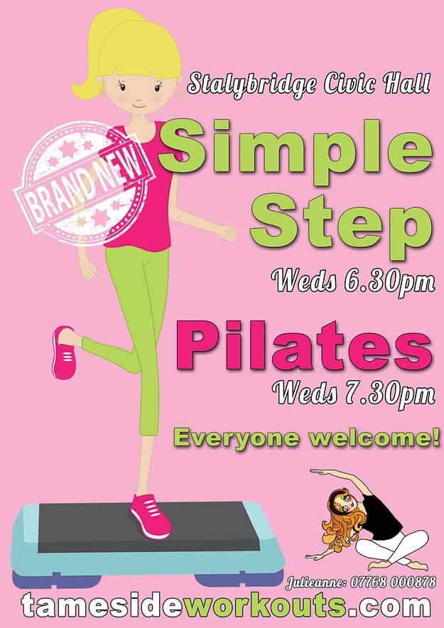 Step and Pilates Classes in Stalybridge