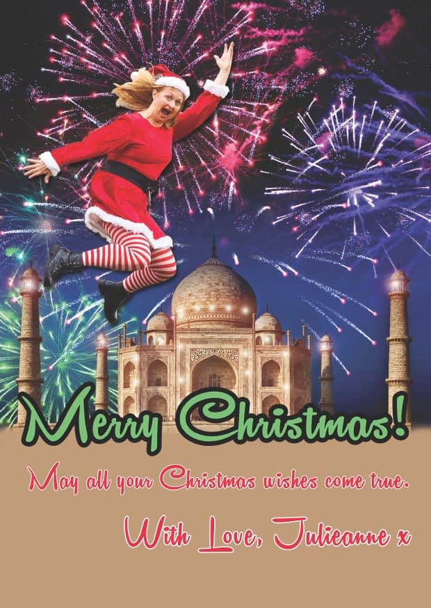 Christmas greeting from Julieanne at Tameside Pilates