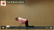 Free 20 minute Pilates workout for subscribers to Tameside Pilates newsletter
